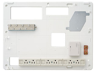 サン電子 COM-K6000H 情報分電盤(ブースタ無し、LANスイッチ無し) 【COM-Hシリーズ】