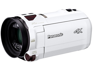 【HC-VZX990M同等品】 Panasonic HC-VX990M-W デジタル4Kビデオカメラ