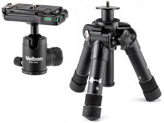 Velbon/ベルボン ULTRA 553mini A 脚のみ+QHD-S6Q 自由雲台セット 【uminiset】
