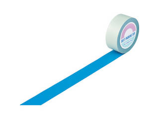 J.G.C./日本緑十字社 ガードテープ(ラインテープ) 青 50mm幅×100m 屋内用 148056