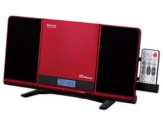 KOIZUMI/コイズミ SDB-4342/R(レッド) ステレオCDシステム