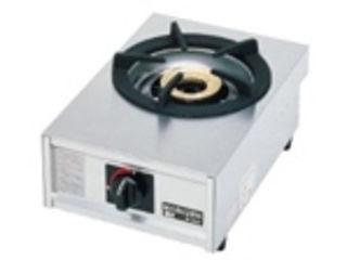※こちらは13A(都市ガス)専用になります。 ガステーブルコンロ親子一口コンロ/M-201C 13A(都市ガス)