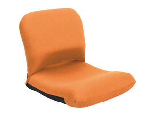 背中を支える美姿勢座椅子 オレンジ 背中 CBC-313 OR
