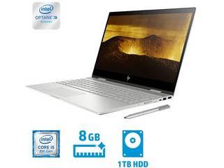 HP/エイチピー 15.6型ノートPC HP ENVY x360 15-cn0000 G1(i5/8GB+Optane/1TB) 4PC92PA-AAAA ナチュラルシルバー