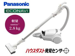 Panasonic/パナソニック MC-PA100G-W 紙パック式掃除機 (ホワイト)