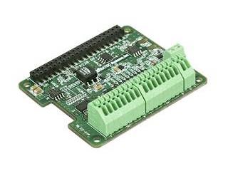 ラトックシステム Raspberry Pi I2C 絶縁型デジタル入出力ボード 端子台モデル RPI-GP10T