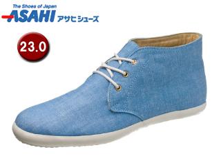 ASAHI/アサヒシューズ AX11202-1 アサヒウォークランド L034GT ゴアテックス スニーカー 【23.0cm・2E】 (ライトブルー)