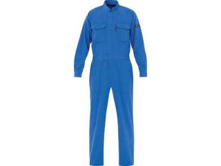 MIDORI ANZEN/ミドリ安全 ベルデクセル T/C帯電防止ツナギ服 ブルー Sサイズ VE 413-S