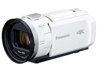 Panasonic/パナソニック HC-VX2M-W(ピュアホワイト) デジタル4Kビデオカメラ ビデオカメラ