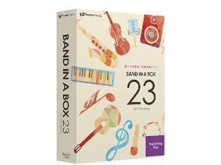 イーフロンティア Band-in-a-Box 23 for Win EverythingPAK
