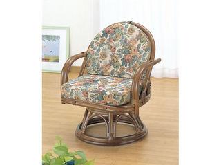 IMAEDA/今枝商店 【代引不可商品】籐回転座椅子/H27TK771