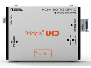 【納期にお時間がかかります】 ADTECHNO/エーディテクノ UHD_M_HOT 超小型軽量4K UHD対応HDMI2.0光延長器 送信機