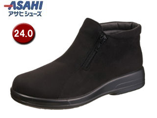 ASAHI/アサヒシューズ AF39121 TDY3912 トップドライ ゴアテックス レディースブーツ 【24.0cm・3E】 (ブラック)