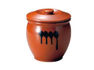陶器 蓋付半胴かめ/10号 18.0L