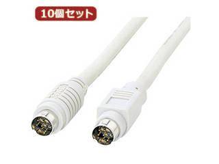 サンワサプライ 【10個セット】サンワサプライ MACシリアルケーブル(2m) KB-M882KX10