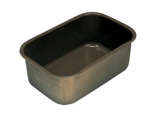 【国内在庫】 NR0377-015:ムラウチ フッ素樹脂コーティング深型バット 膜厚約50μ Flon/フロンケミカル 深14-DIY・工具