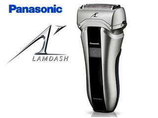 Panasonic/パナソニック ES-CT20-S ラムダッシュ 3枚刃 (シルバー調) 【ポーチ付】