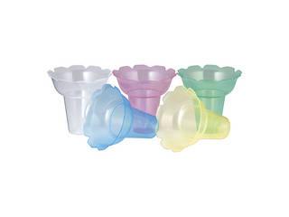 PP フラワーカップ 018 5色アソート(500ヶ入)