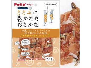 Petio/ペティオ ゆるゆるオールスターズ ささみに巻かれたおさかな 45g