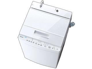 【標準配送設置無料!】 TOSHIBA/東芝 【まごころ配送】AW-8D8-W[グランホワイト] 全自動洗濯機 ZABOON[洗濯・脱水8kg] 【お届けまでの目安:14日間】