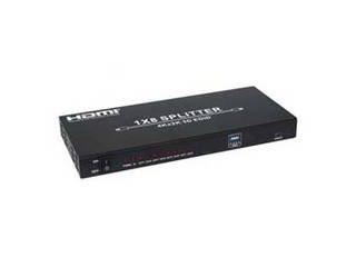 テック テック 4K対応 HDMIスプリッター 8分配 THDSP18-4K