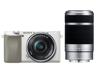 SONY/ソニー ILCE-6100Y-W(ホワイト) α6100 ダブルズームレンズキット ミラーレスカメラ 【アルファ】