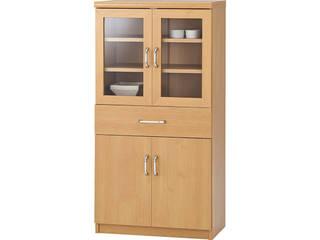 木目調食器棚  DIS-1260GDH