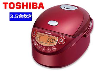 TOSHIBA/東芝 RC-6XM(R) [グランレッド]  IH小容量ジャー炊飯器 【3.5合炊き】