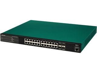 パナソニックESネットワークス 【キャンセル不可】24ポート PoE給電スイッチングハブ 3年先出しセンドバック保守バンドル PN26249KB3