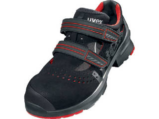 uvex/ウベックス サンダル ブラック/レッド 27.5cm 8536.5-43