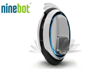 NINEBOT/ナインボット Ninebot ONE ナインボットワン 電動一輪車 (ホワイト×ブラック)