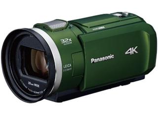 Panasonic/パナソニック HC-VX2M-G(フォレストカーキ) デジタル4Kビデオカメラ ビデオカメラ