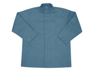 YOSHINO/吉野 ハイブリッド(耐熱・耐切創)作業服 上着 LLサイズ ネイビーブルー YS-PW1BLL