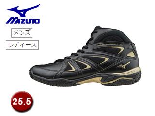 mizuno/ミズノ K1GF1571-09 ウエーブダイバース LG3 フィットネスシューズ 【25.5】 (ブラック)