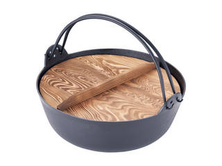 五進 五進 ジャンボ田舎鍋(鉄製) 36cm
