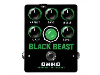 OKKO/オッコー BLACK BEAST/ブラック・ビースト エフェクター (ファズ) 【RPS160221】