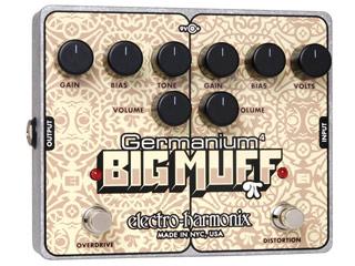 【nightsale】 electro harmonix/エレクトロハーモニクス Germanium 4 Big Muff Pi オーバードライブ/ディストーション エフェクター 【国内正規品】