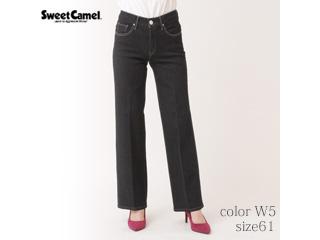 Sweet Camel/スイートキャメル フラワーオイル スレンダーストレートパンツ【W5=ワンウォッシュ/size61】■(CA6504)