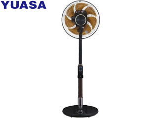 YUASA/ユアサプライムス YT-DVJH3427YFR(K) DCモーターハイポジション扇風機 「極扇」 音声操作 ブラック