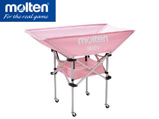molten/モルテン BKCVHPK 折りたたみ式平型軽量ボールカゴ 【背高】 (ピンク)