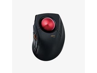 "ELECOM/エレコム トラックボールマウス""DEFT PRO"" 有線・無線・Bluetooth 3種接続 8ボタン チルト機能 M-DPT1MRXBK"