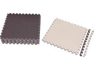 IRIS OHYAMA/アイリスオーヤマ ジョイントマット 60×60 16枚 ブラウン/ベージュ JTMR-616-BR