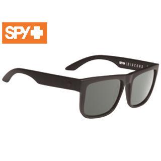 SPY/スパイ 673119973864 DISCORD [フレーム:SOFT MATTE BLACK] (レンズ:Happy Gray Green Polar)