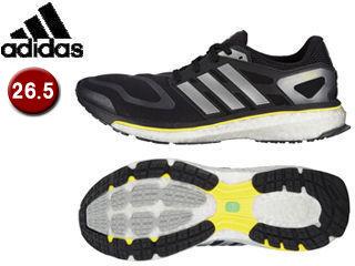 adidas/アディダス G64392 Energy boost 【26.5cm】 (ブラック×ネオアイロンメット×ビビッドイエロー)