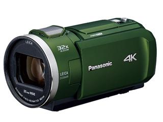 Panasonic/パナソニック HC-VZX2M-G(フォレストカーキ) デジタル4Kビデオカメラ ビデオカメラ