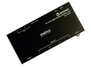 ADTECHNO/エーディテクノ HUS-0104E スケーリング機能搭載 業務用薄型HDMI 2.0a 4分配器