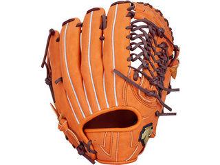 デサント(DESCENTE) 軟式グラブ 外野手用/カラー:オレンジ