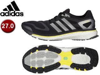 adidas/アディダス G64392 Energy boost 【27.0cm】 (ブラック×ネオアイロンメット×ビビッドイエロー)