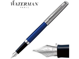 WATERMAN/ウォーターマン 万年筆■メトロポリタンデラックス【ブルーウェーブCT】■ステンレスペン先 【F/細字】(2048928)