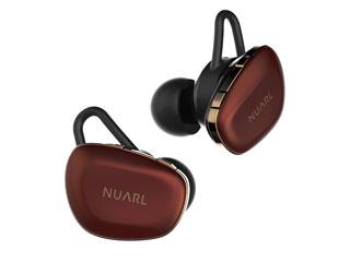 NUARL/ヌアール N6 Pro RC  トゥルーワイヤレス ステレオイヤホン (レッドカッパー)